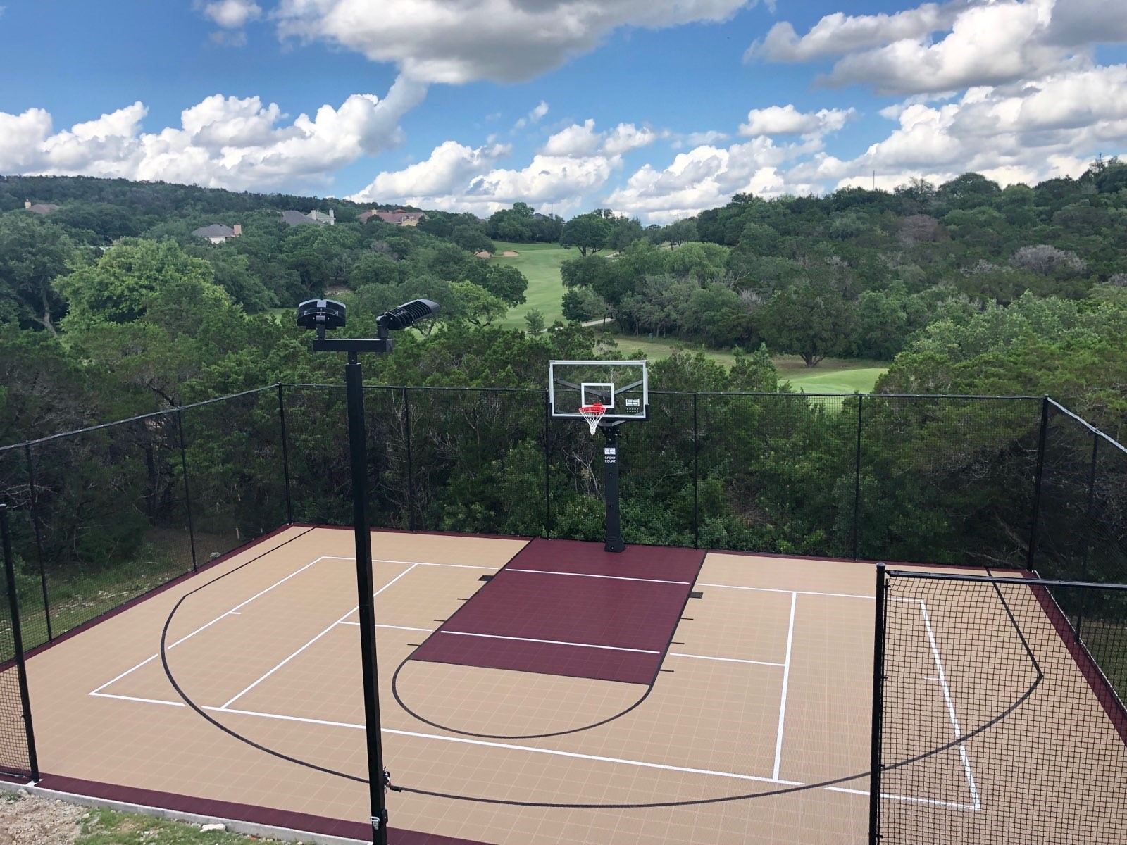 Sport Court Outdoor Basketball Court