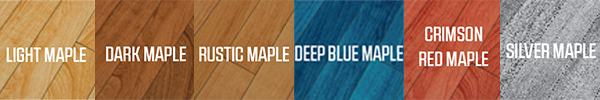 Maple Select flooring color options