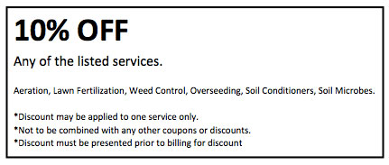 10% discount on lawn care servcies