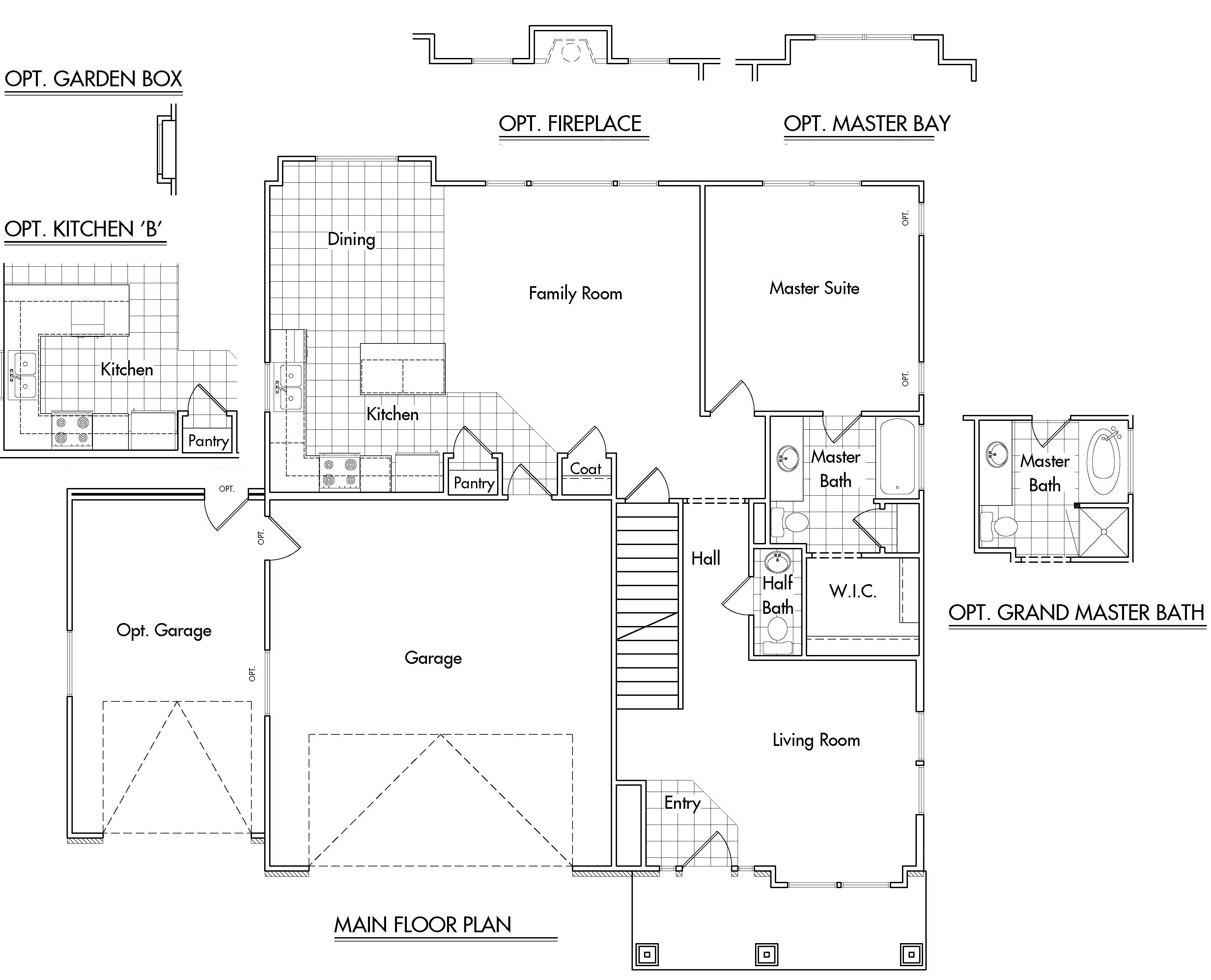 Danbury home plan bach homes for Bach floor plans