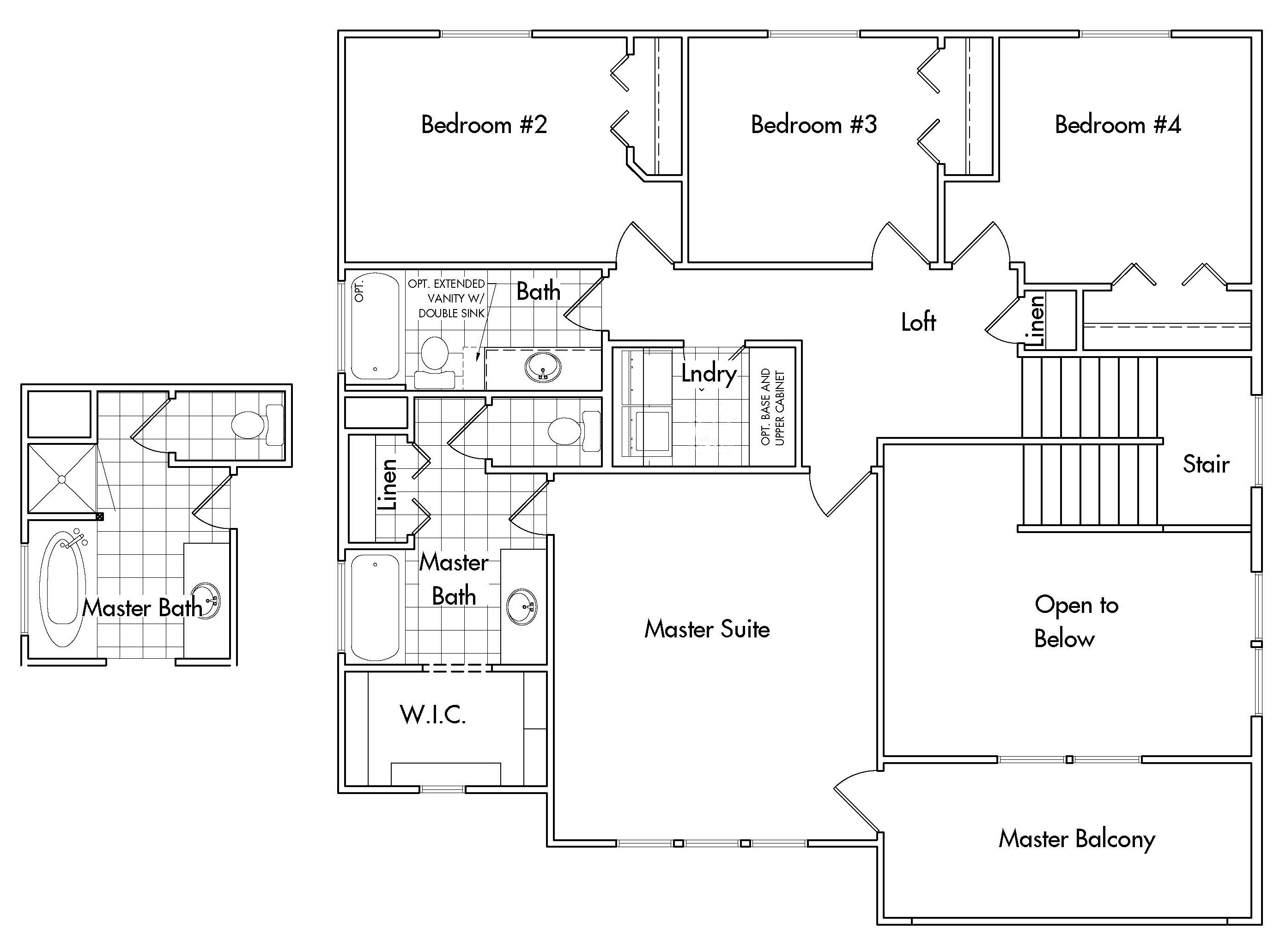 Whitfield home plan bach homes for Bach floor plans