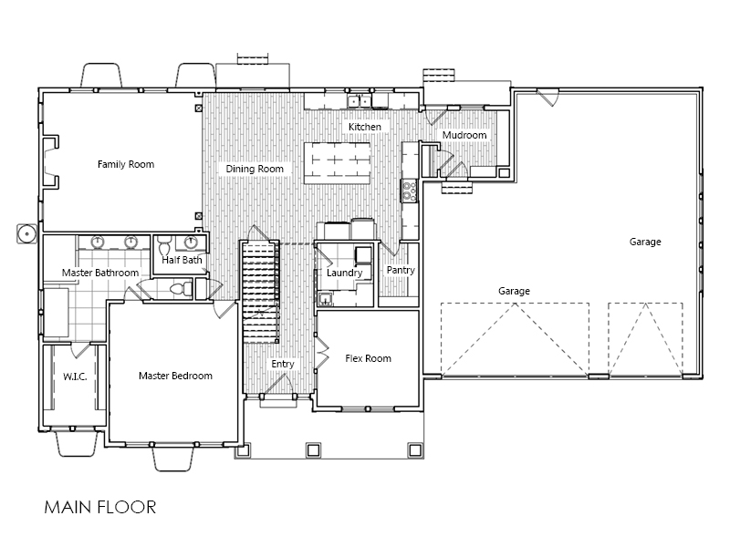 Quincy home plan bach homes for Bach floor plans