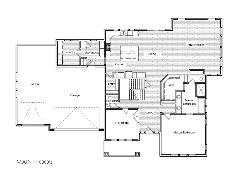 Montgomery home plan bach homes for Bach floor plans