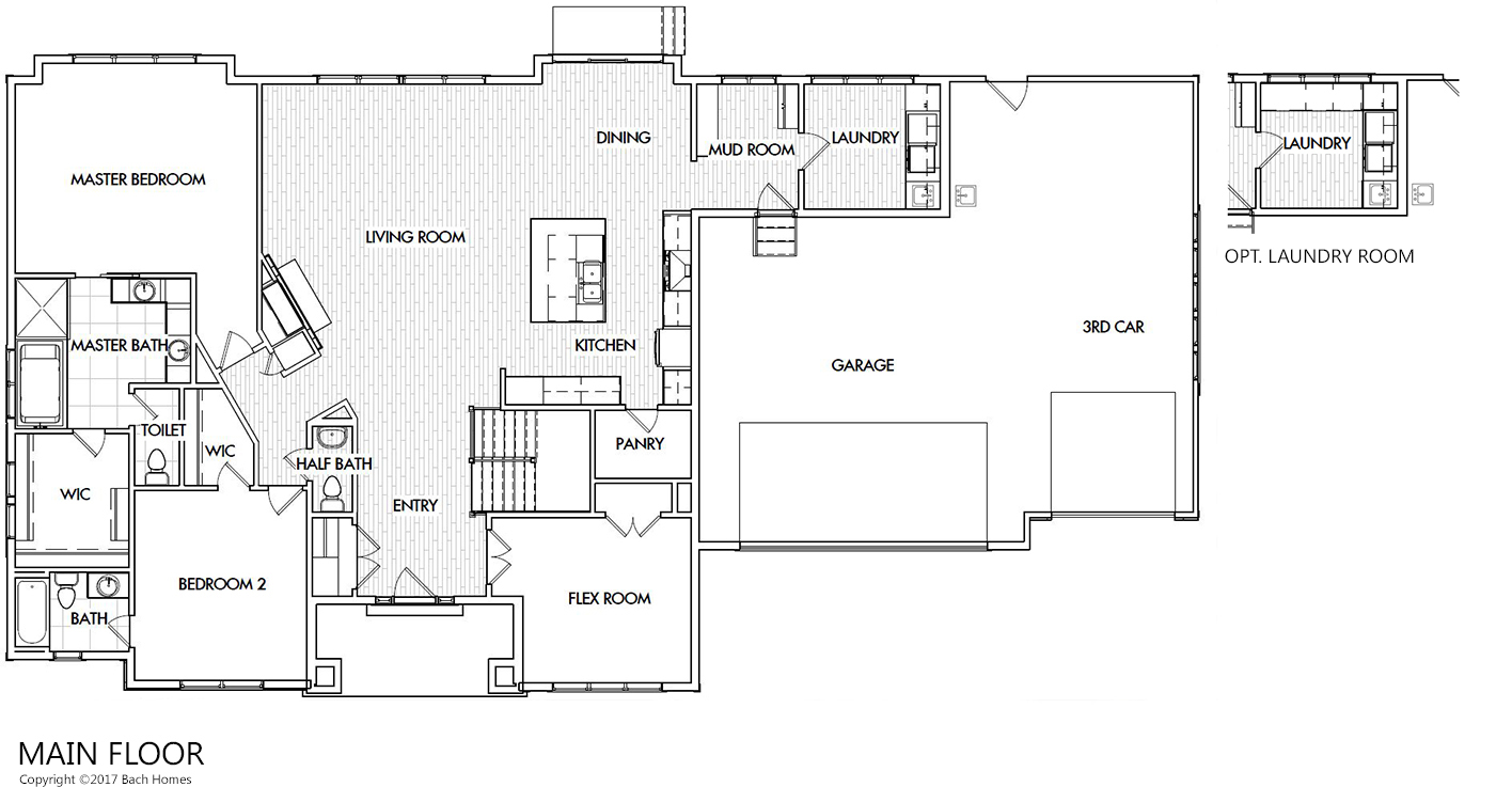 Welton home plan bach homes for Bach floor plans