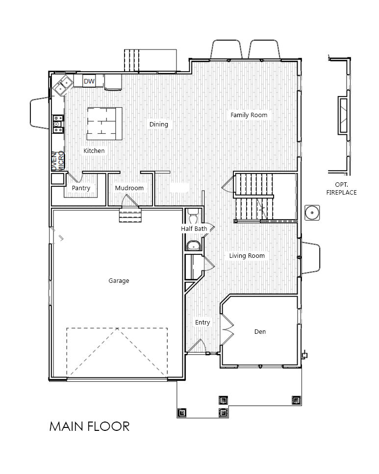 Bridgeport home plan bach homes for Bach floor plans