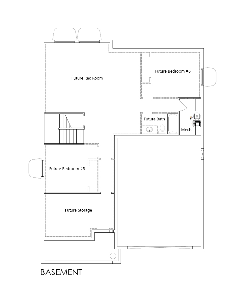 Winston home plan bach homes for Bach floor plans