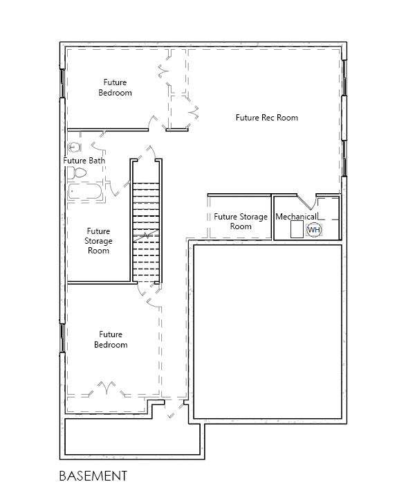 Laurel home plan bach homes for Bach floor plans