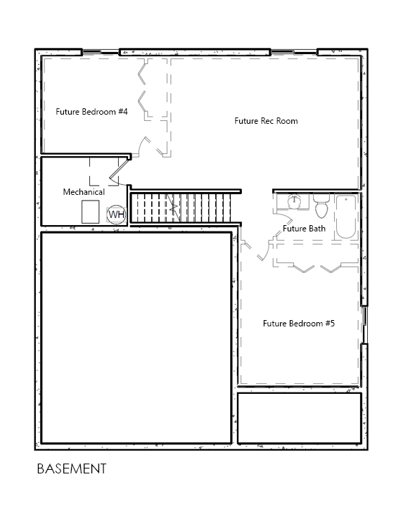Brighton home plan bach homes for Bach floor plans