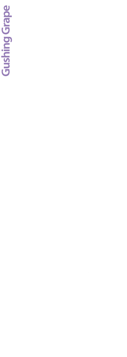 Gushing Grape BOOM Nutrition Facts