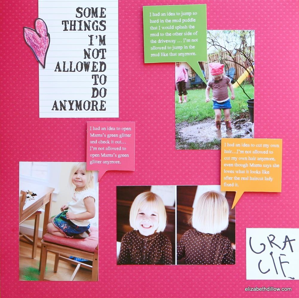 Create a layout inspired by a beloved children's book