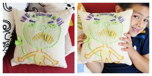 Kids Embroidery Project