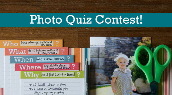 Photo Quiz Contest with Angie Lucas
