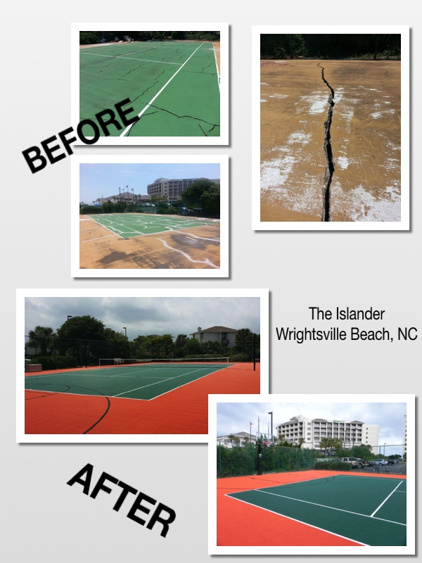 Tennis Court Resurfacing