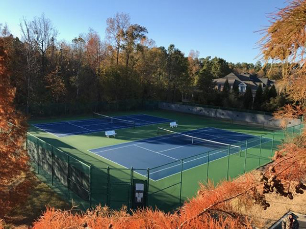 Tennis Court Surfaces and Nets by Sport Court