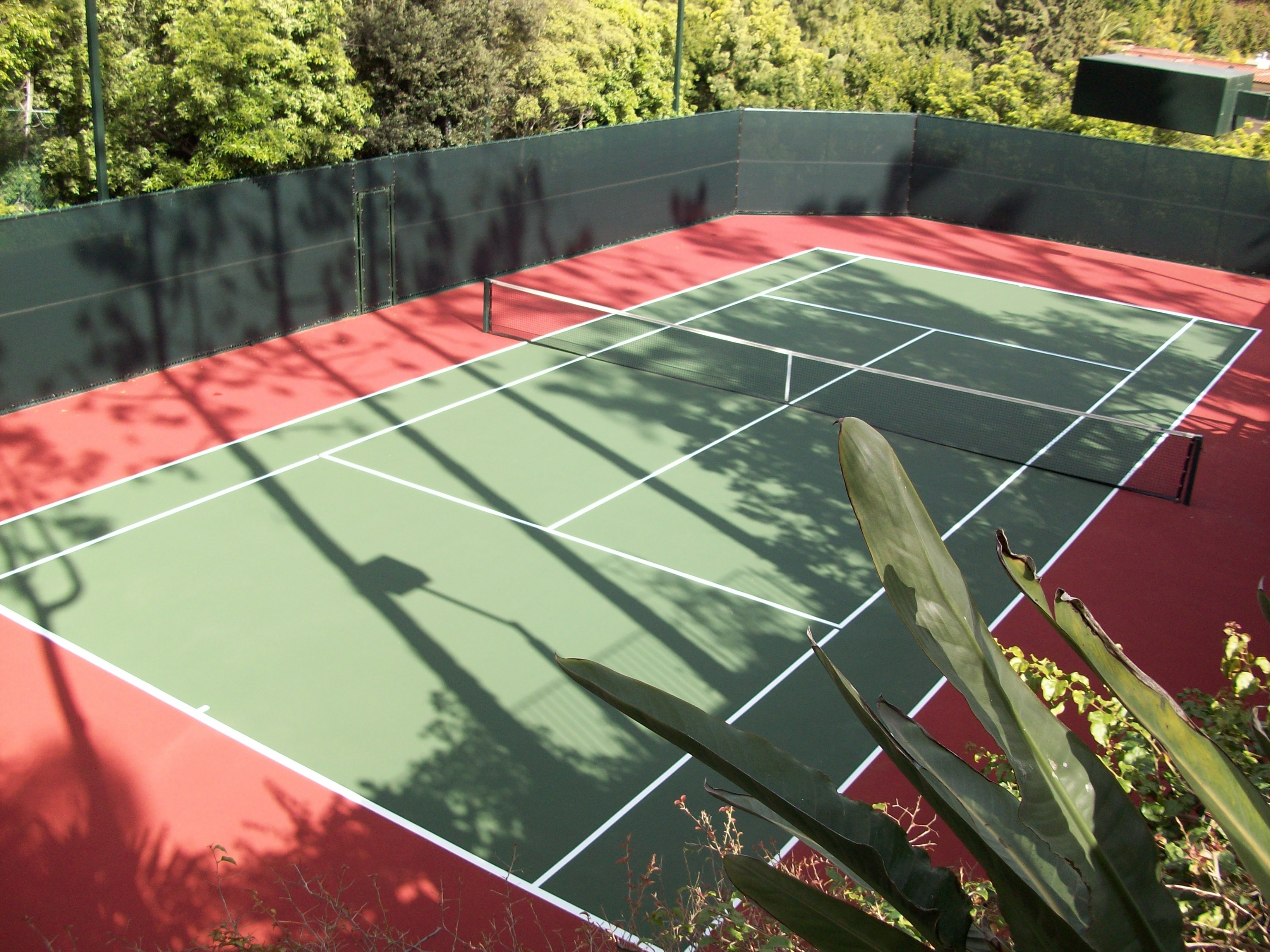 Backyard Tennis Courts from Sport Court