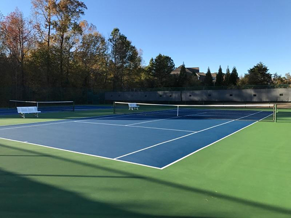 Tennis Court Surface by Sport Court Southern California