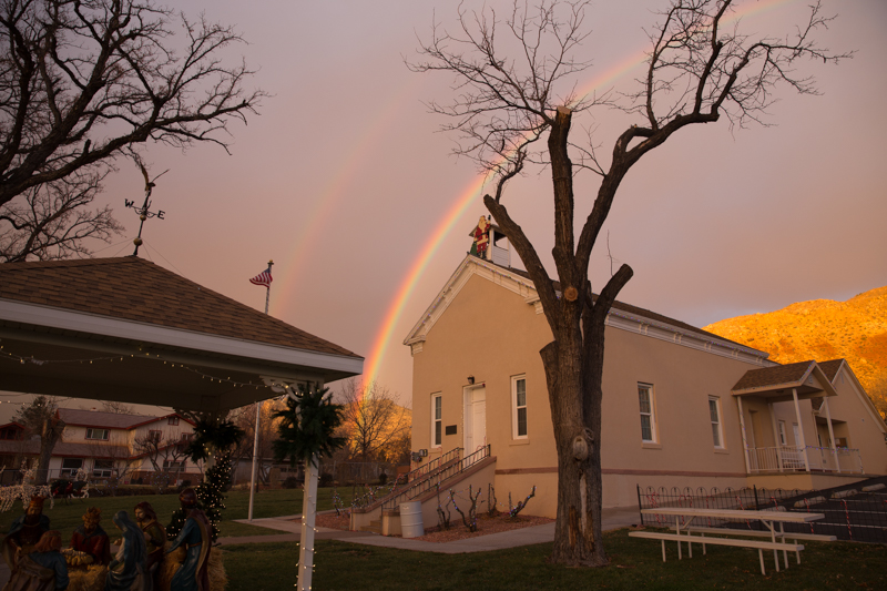 Rainbow City Hall - BlueDesertPhoto