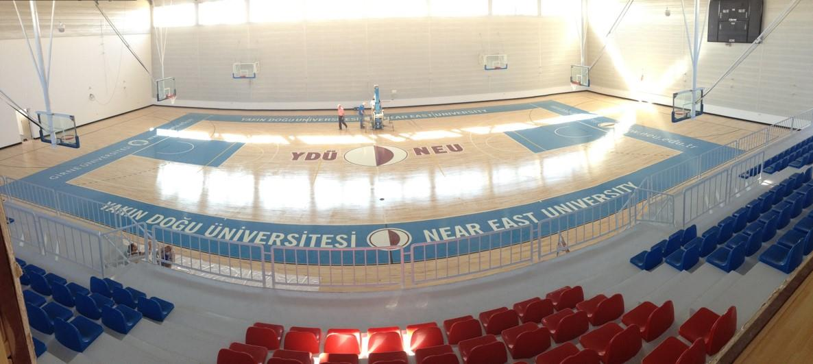 Near East Tech University gets new Connor Sports Neoshok Hardwood System