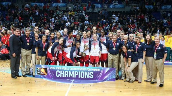 USA Women Capture FIBA Women's World Championship in Turkey on Connor Sports® Courts