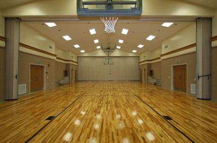 Multi Purpose Room on House Floor Plans With Basketball Court
