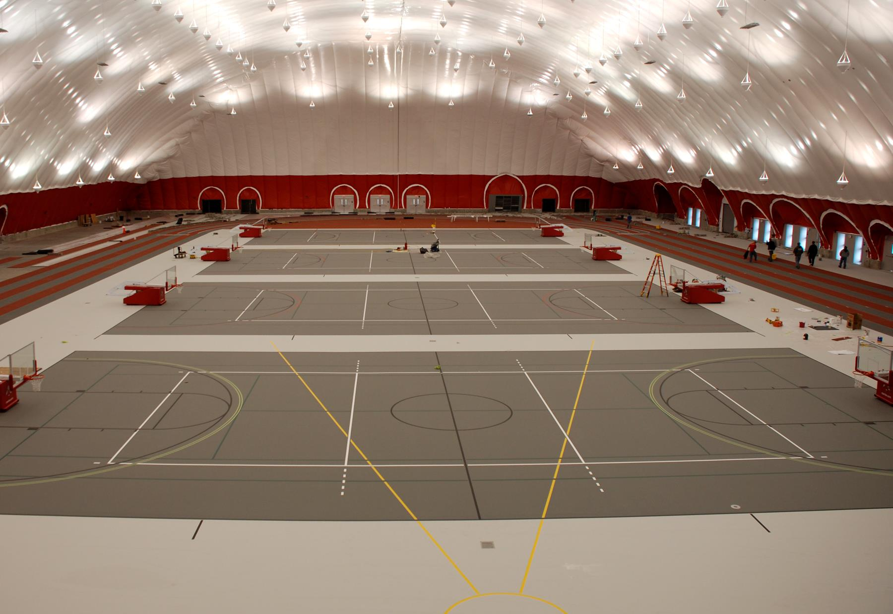 fieldhouse flooring by Connor Sports