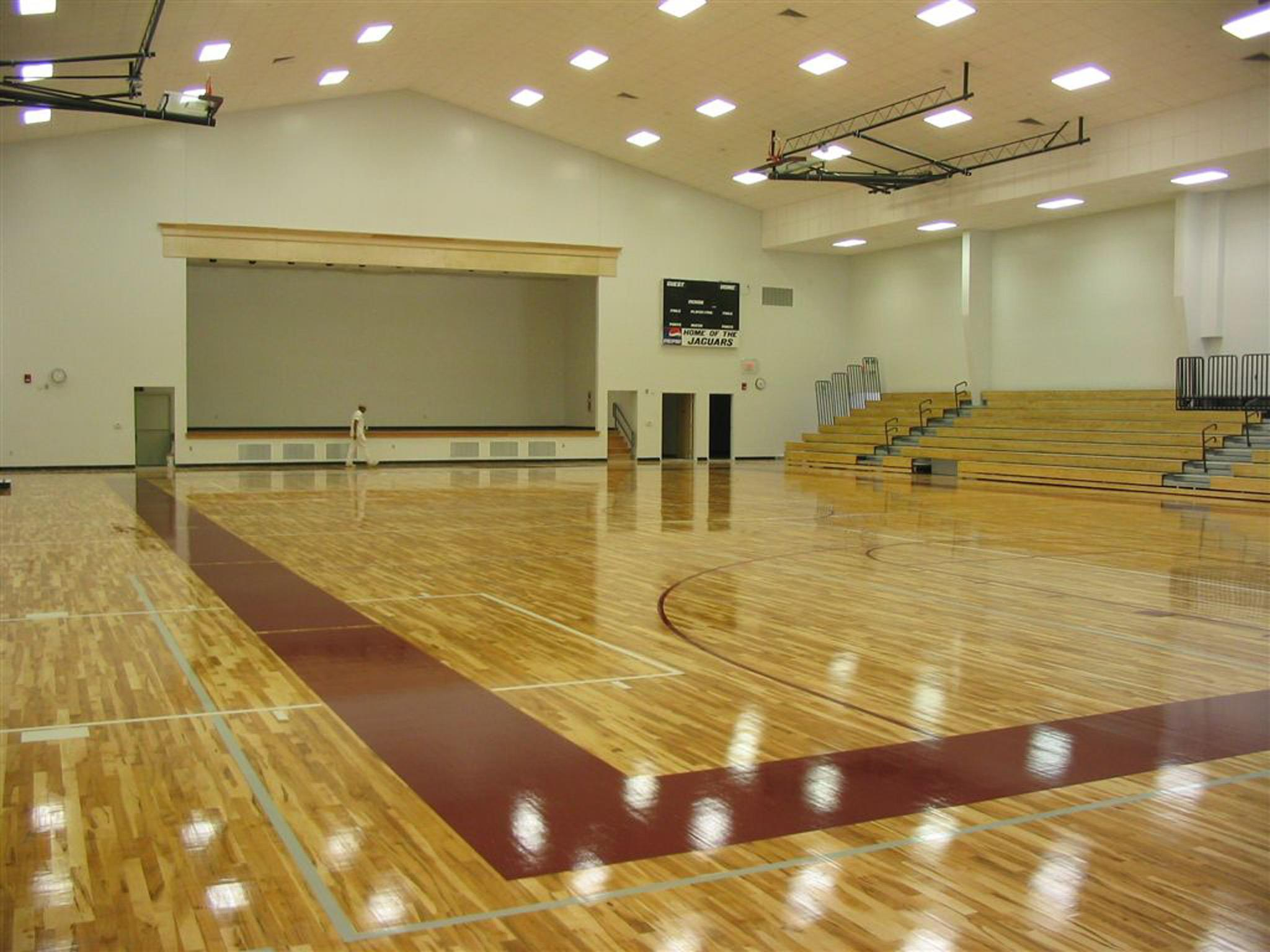 hardwood sports flooring by Connor Sports