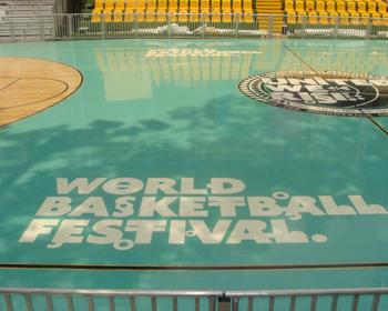 Basketball Event Flooring