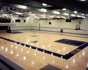 NBA Practice Facility Flooring