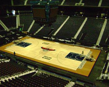 NBA Arena Flooring