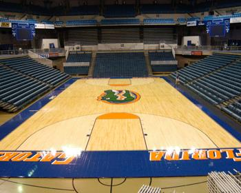 Florida Gators Basketball Court