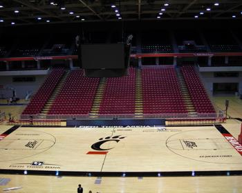 Cincinnati University Basketball Court