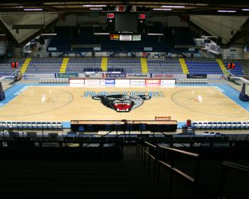 University of Maine Basketball Arena Flooring