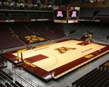 NCAA Basketball Court