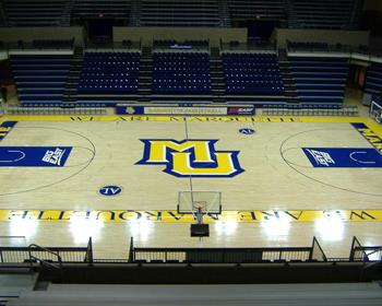 Marquette University Basketball Court