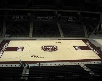 Missouri State Basketball Court