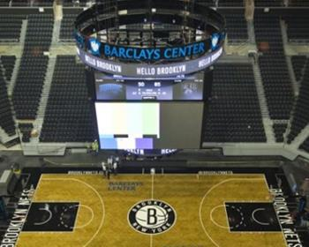 NBA Brooklyn Nets Basketball Court