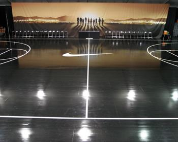 Nike Basketball Event Flooring