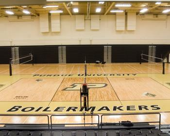 Purdue University Volleyball Courts