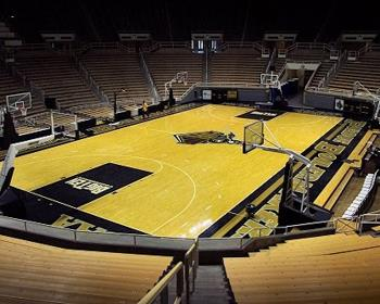 Purdue University Basketball Court