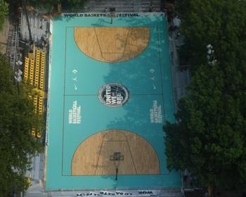 Nike USA Basketball World Basketball Festival Court