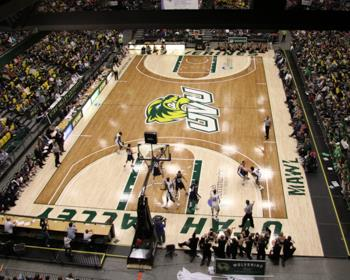 Photos of hardwood basketball courts rubber running for Sport court utah