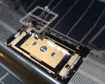 NCAA March Madness Regional Courts