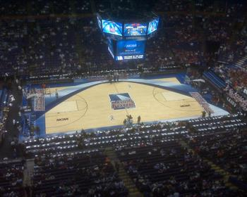 NCAA Final Four Basketball Court