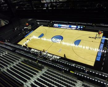 NCAA Basketball Regional Court