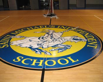 School Gymnasium Flooring