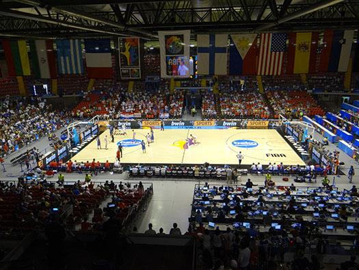 Sevilla court hosts exciting match up with the Phillapeans and Croation