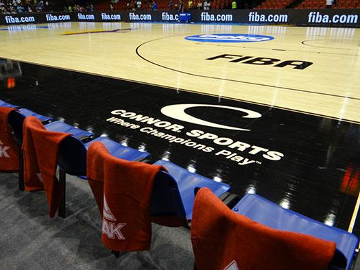 #CourtsideStories with Connor Sports: Day 1 FIBA Basketball World Cup - Courtside Seats