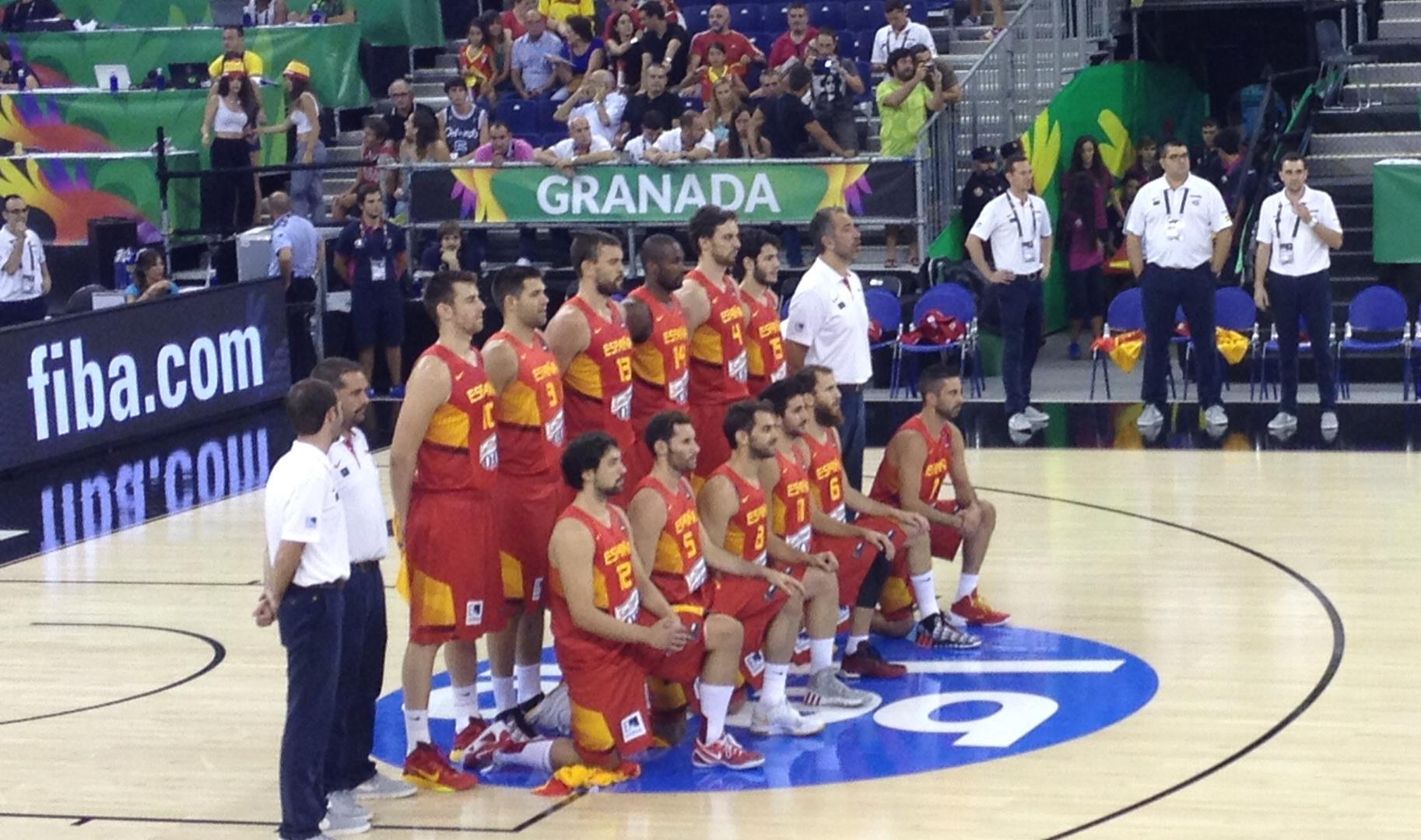 Spain in 2014 FIBA Basketball World Cup - Where Champions Play