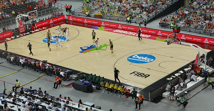 FIBA Basketball World Cup Court