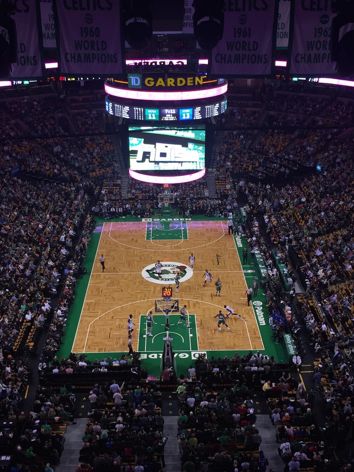 Boston Celtics Court
